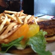 Turkey Burger from Pats Tap Minneapolis MN