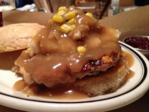 Thanksgiving Burger at Burger Jones