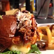 Smokehouse burger at Edina Grill.