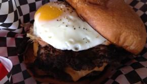 Black Beard/Black Pearl Burger at D Spot