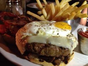 Chefs Loaded Burger - The Strip Club Meat & Fish - Saint Paul, MN
