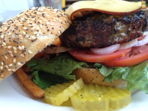 Pat LaFrieda Burger - Dock Cafe Stillwater MN