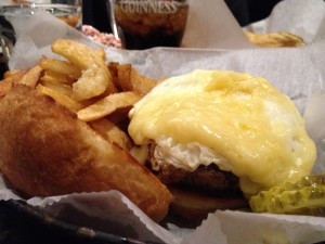 Helicopter Burger at Anchor Fish & Chips - Minneapolis MN
