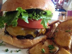 Applerum Burger at Alchemy Cafe in Madison WI