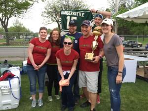Winners of 2015 Twin Cities Burger Battle